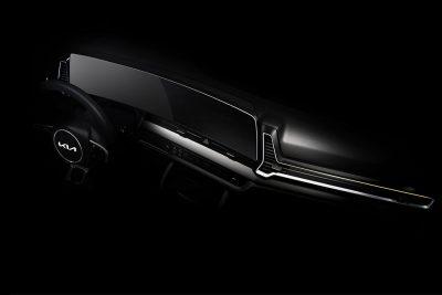 Новый Kia Sportage - первый официальный тизер