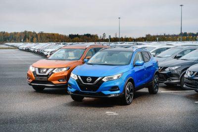 Продажи кроссоверов Nissan с автопилотом