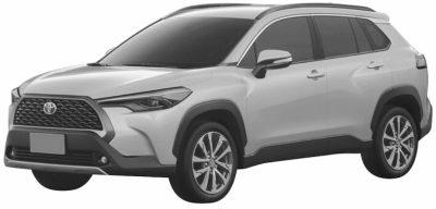 Toyota запатентовала в России Corolla Cross