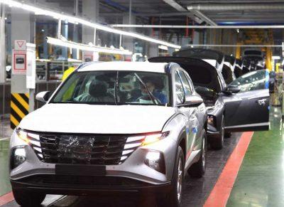 В РФ стартовало производство нового Hyundai Tucson
