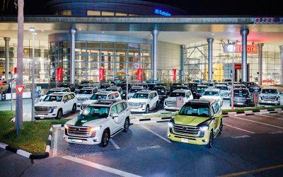 Toyota Land Cruiser 300 пополнил автопарк полиции ОАЭ
