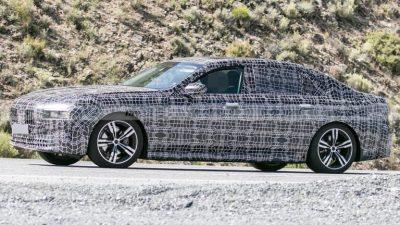 BMW готовит новое поколение 7-Series
