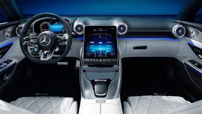 Интерьер нового Mercedes-AMG SL