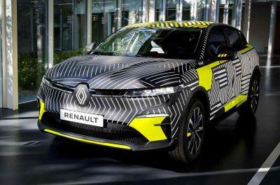 Электрический Renault Megane