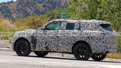 Новое поколение Range Rover Sport
