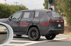 Портал TFLtruck опубликовал шпионские фотографии нового внедорожника Lexus LX, который тестировали на дорогах общего пользования.