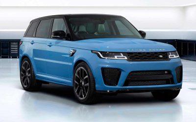 В Россию привезут особый Range Rover Sport