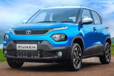 Новый сверхдоступный кроссовер Tata Punch