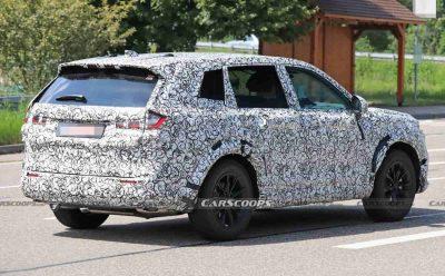 Компания Honda ведет дорожные испытания кроссовера CR-V следующего поколения.