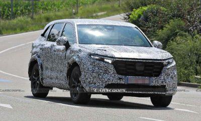 Новый Honda CR-V заметили во время тестов