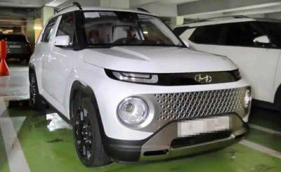 Hyundai Casper показали на реальных фото