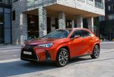 Lexus обновил дизайн кроссовера UX