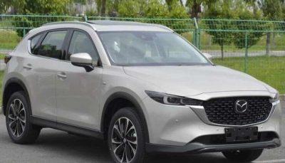 Обновленная Mazda CX-5 2022