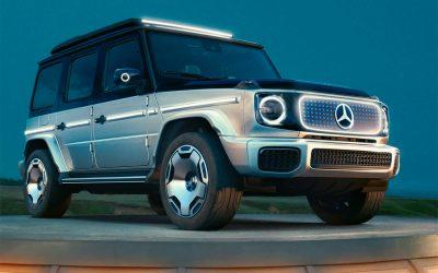 Mercedes показала полностью электрический Гелендваген