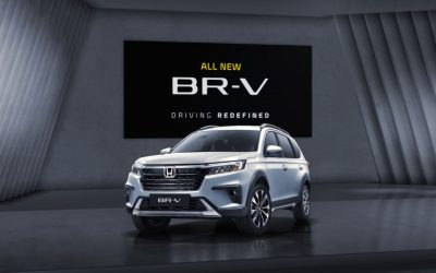 Honda представила компактный кроссовер BR-V второго поколения.