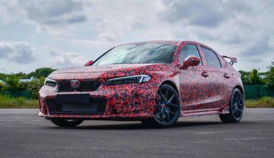 Honda показала новый Civic Type R