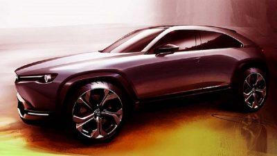 Кроссовер Mazda CX-50: появились новые изображения