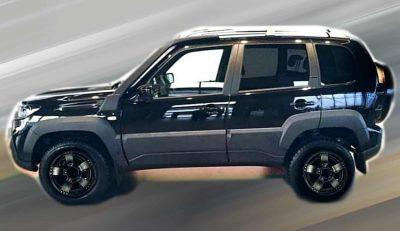 Lada Niva Travel - «черная» спецверсия