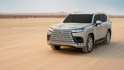 Lexus представил LX нового поколения